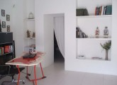 zona igresso_studio, la libreria/passaggio