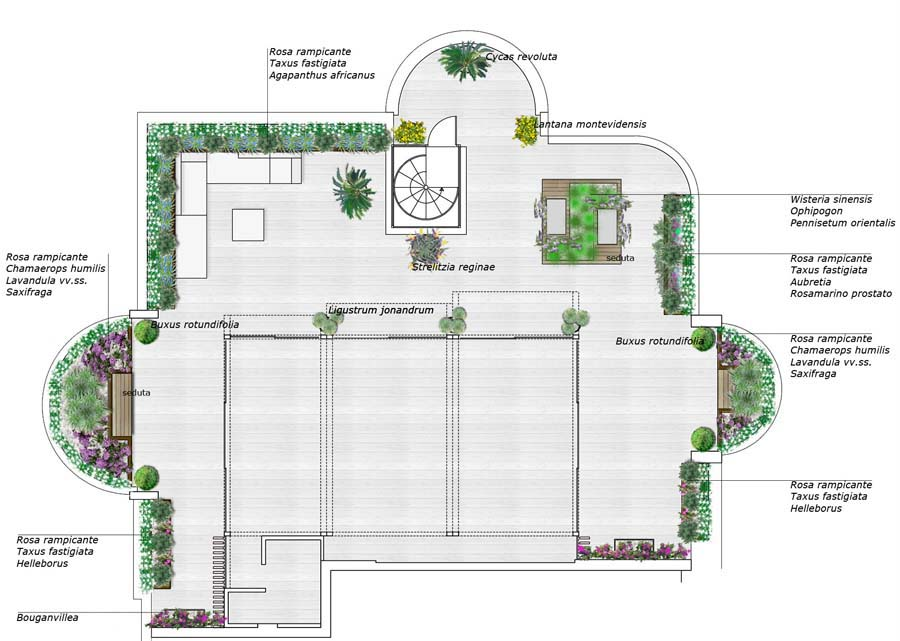 green design terrazzo Roma | Daniele Spitaleri