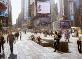 vista di insieme Times Square
